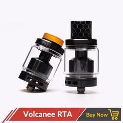 Оригинальный вулканический RTA двойной катушкой танк распылитель 5 мл 24 мм Диаметр Топ пополнения для Vape электронной сигареты vs Reload Doggy стиль ...