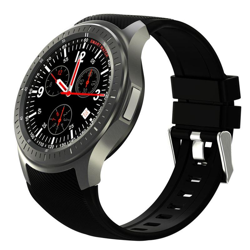 Auf lager 2017 dm368 bluetooth smart watch smartwatch 3g mtk6580 android 5.1 quad core 512 mb + 8 gb armbanduhr mit herzfrequenz gps