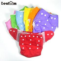Vente chaude 1 pcs étanche réglable coton bébé couches pantalon réutilisable bébé infantile couche en tissu lavable taille libre d'hiver d'été