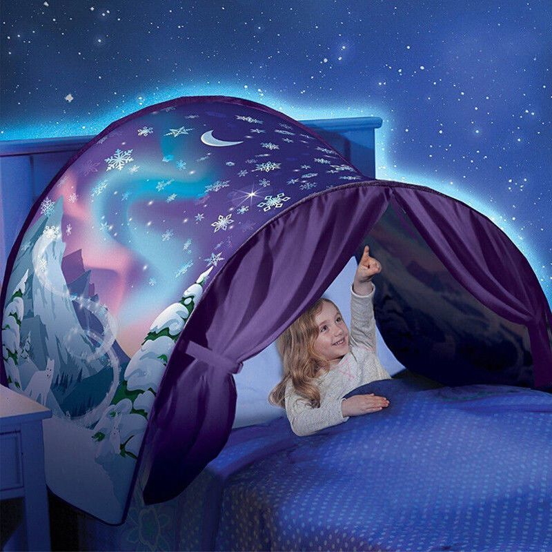 2018 Brand New Kid Baby Dream Tent Fantasy Foldable Tent Camp Outdoor Play Snow Tent 6 Styles Fancy Sleeping Prop