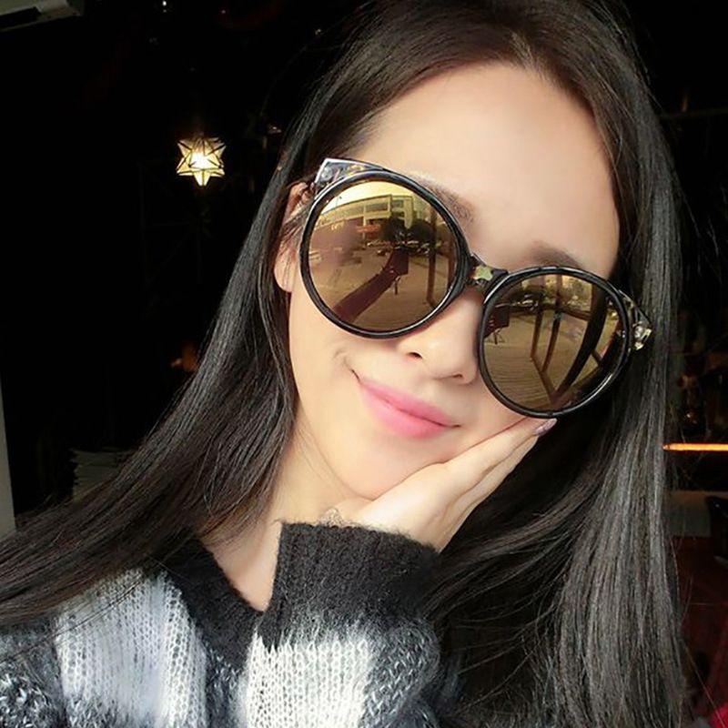 New sunglasses female retro round frame tidal glasses factory wholesale 5057 glasses manufacturer wholesale 5057
