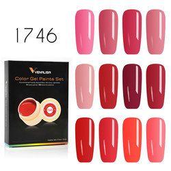 Venalisa гель лак 5 мл 180 Pure Цвета замочить от УФ-светодиодный гель DIY французский CANNI Гель-лак дизайн ногтей Живопись Цвет гель Лаки