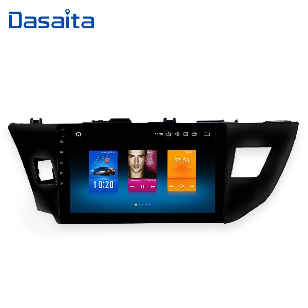 Dasaita 10,2 Android 8.0 Auto GPS Radio Player für Toyota Corolla 2014 2015 2016 mit Octa Core 4 gb + 32 gb Auto Stereo Multimedia