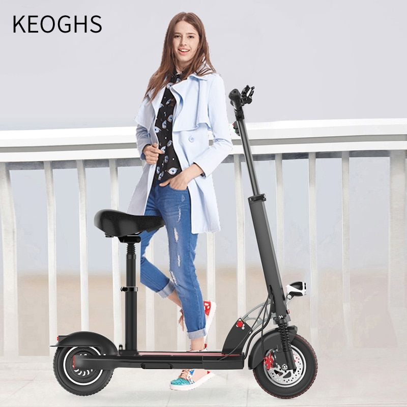 Somatosensory electric powered adult electric scooter foldable 2 wheels scooter lithium electric drive Aluminum alloy