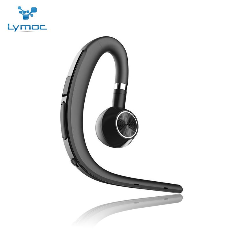 Lymoc Upgrade Y3+ Bluetooth Earphone Handsfree Ear Hook Wireless Headsets V4.1 Noise <font><b>Cancelling</b></font> HD Mic Music For iPhone Huawei