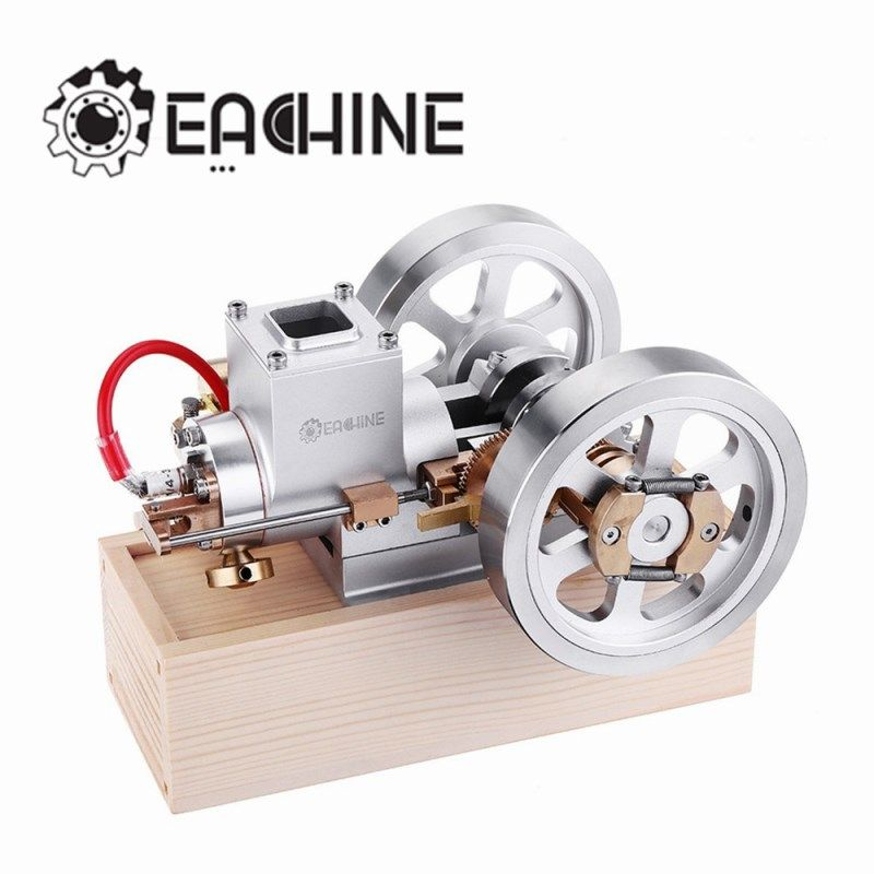Eachine ET1 STEM Upgrade Hit & Miss Gas Motor Stirling Motor Modell Verbrennung Motor Sammlung DIY Projekt