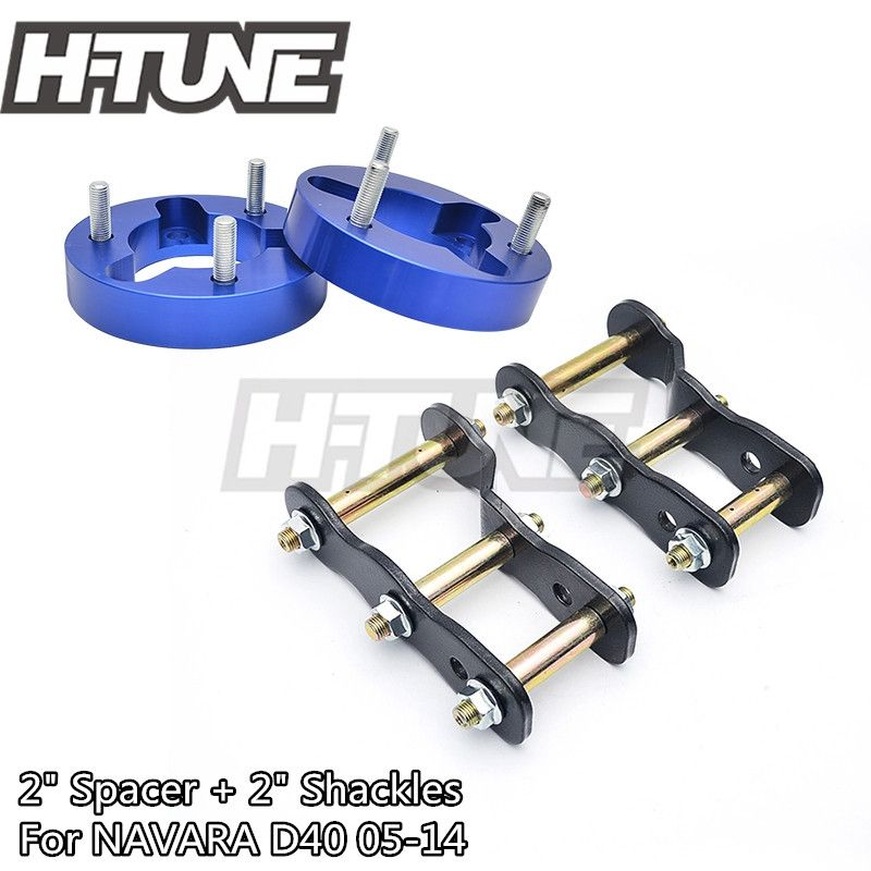 H-TUNE 4x4 Aussetzung Lift kits 25mm Front Strut Spacer + 2