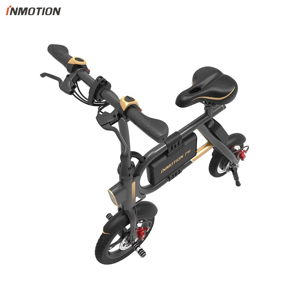 INMOTION E-BIKE P1F Folding Electric Scooter Mini Style IP54 APP Supported 30km/h Electronic Bike