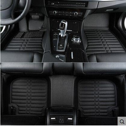 Beste qualität! kundenspezifische sonder fußmatten für BMW 740Li 750Li 760Li lange G12 2017-2016 wasserdichte rutschfeste teppiche, freies verschiffen