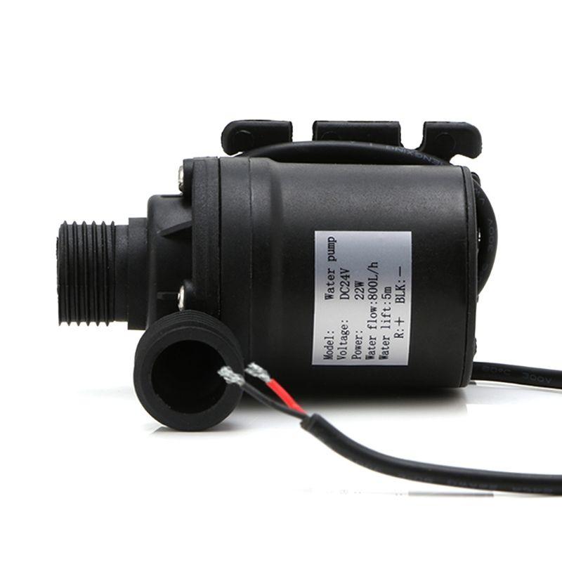 800L/H 5m DC 12V 24V Solar Brushless Motor Water Circulation Water Pump High Quality