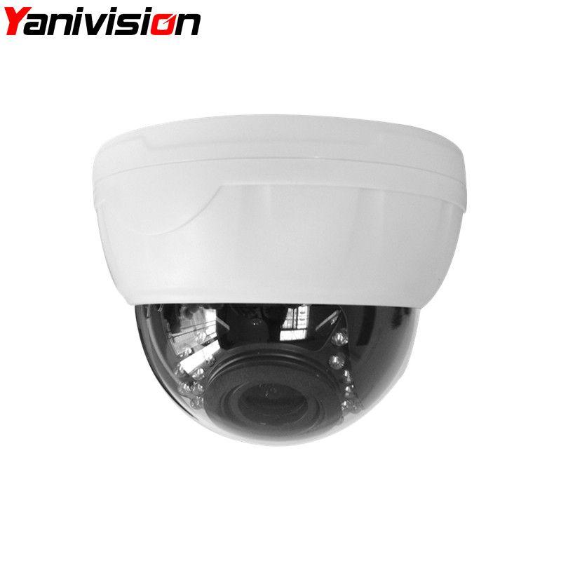 2.8-12mm Varifocal Lens Plastic IR Indoor IP Dome Motion Detection Night Vision 5MP 4MP 960P 1080P IP Camera H.265