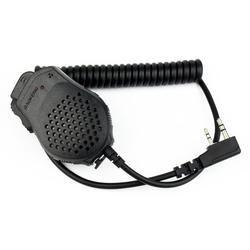 2 pin PTT altavoz MIC micrófono para Kenwood baofeng pofung wouxun puxing Radios