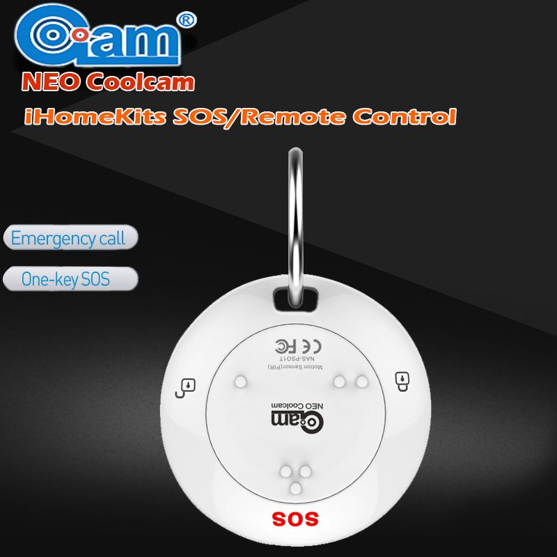 NEO COOLCAM IHOME KITS NAS-RC01T Wireless  Arm and Disarm / SOS/Remote Control Alarm System For Home Security Alarm System