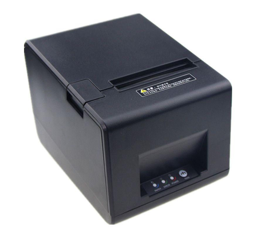 2018 WIFI connection POS printer High quality 80mm receipt bill Small ticket printer automatic cutting printing speed Fast