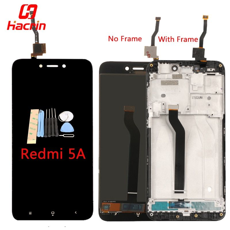 Xiaomi Redmi 5A LCD Affichage Écran Tactile Bon Test Digitizer Assemblée Remplacement pour Xiaomi Redmi 5A Mondial Version Hacrin
