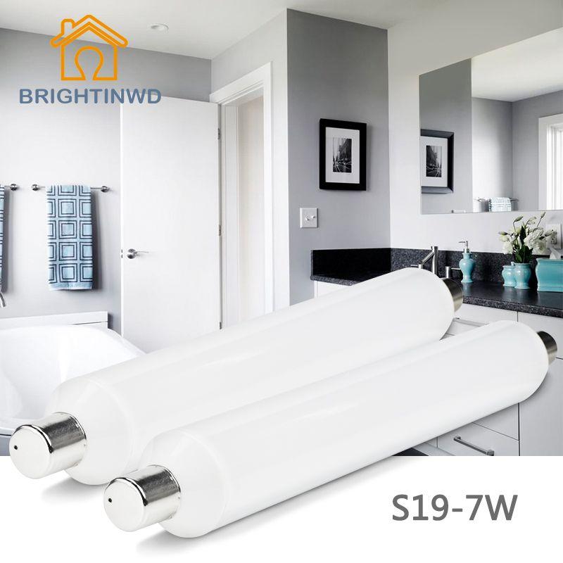 Epistar LED S19 Tube SMD2835 Linestra Lampada LED Tube Fluorescent 310mm 7 w 220 v-240 v Osram LED Économie D'énergie Lampe BRIGHTINWD
