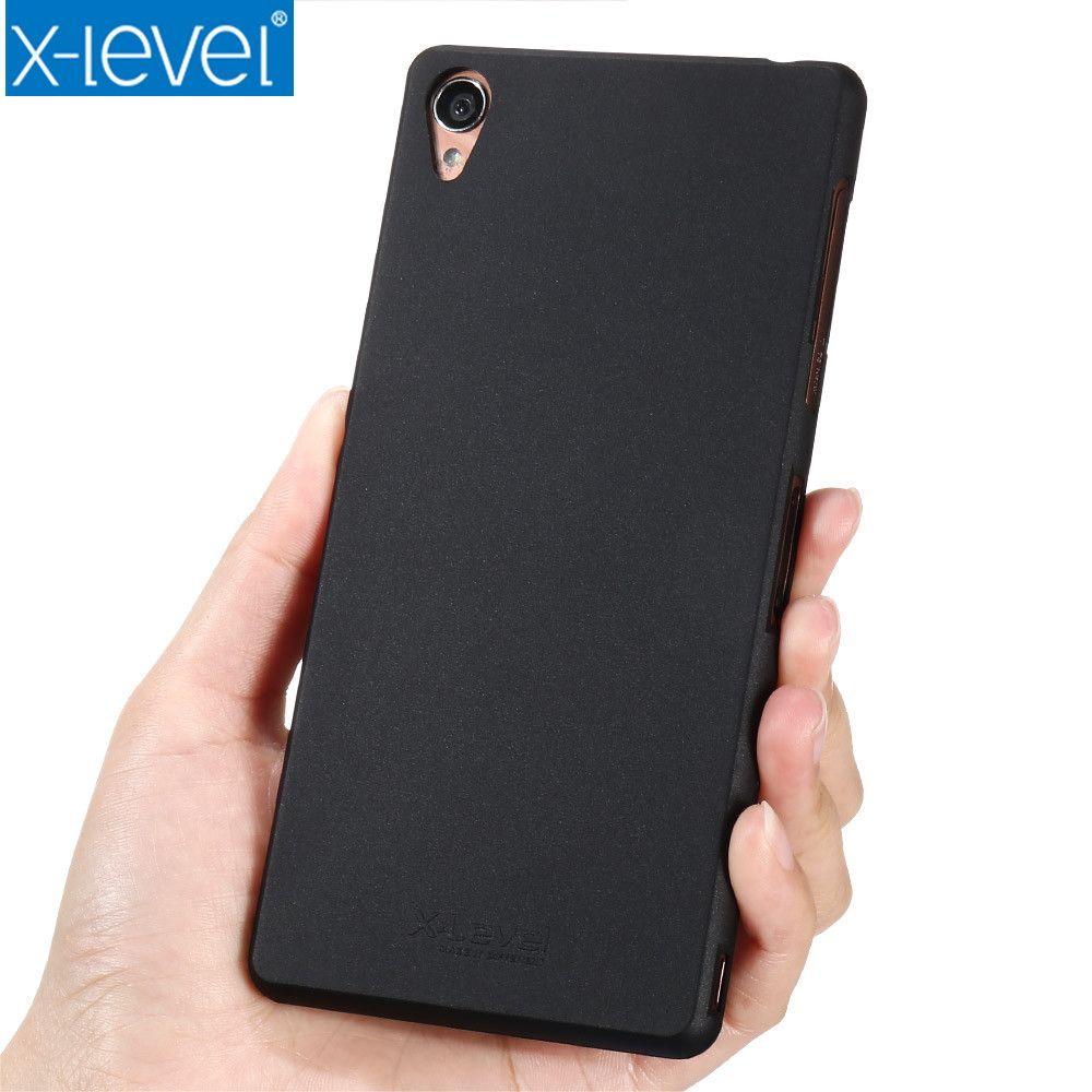 X-Niveau Cas Pour Sony Xperia Z3 Silicone Ultra Mince Tpu Mat Soyeux Souple Retour Téléphone Couverture de Cas Pour Sony Z3