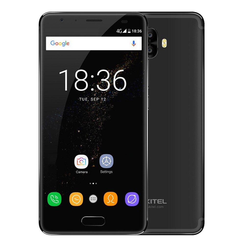 Original OUKITEL K8000 5,5 ''FHD 4G Smartphone 8000 mAh Batterie Android 7.0 Octa-core 4 GB + 64 GB 13MP + 16MP Hinten Cam Handy BT4.2