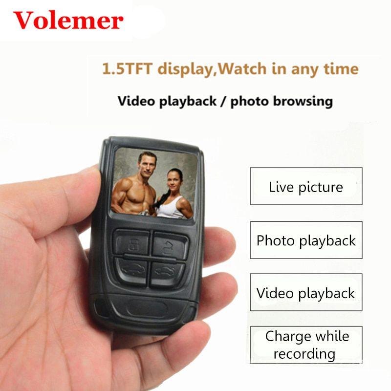 Volemer 1080 P Mini caméra caméscope avec écran H.264 Micro DV caméra détection de mouvement enregistrement vidéo caméra Invisible PK T189 SQ8
