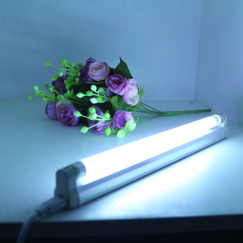 Commodité T5 UV Quartz linéaire Lampe Pour La Stérilisation et Désinfection avec fixation et un eballast, Ultraviolet 4 W 6 W 8 W