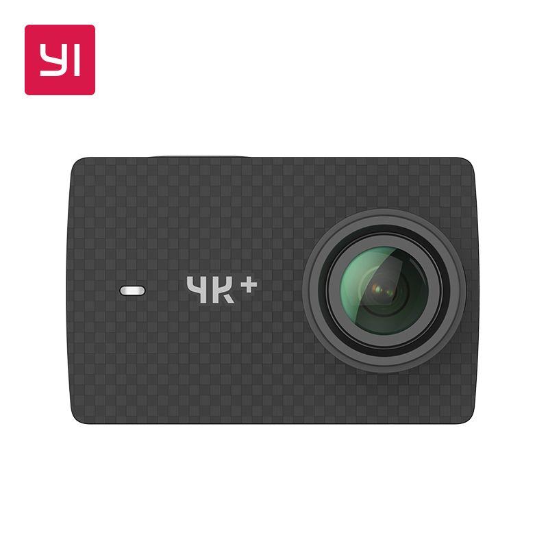 YI 4 K + (Plus) caméra d'action édition internationale premier 4 K/60fps Amba H2 SOC Cortex-A53 IMX377 12MP CMOS 2.2 LDC RAM EIS WIFI