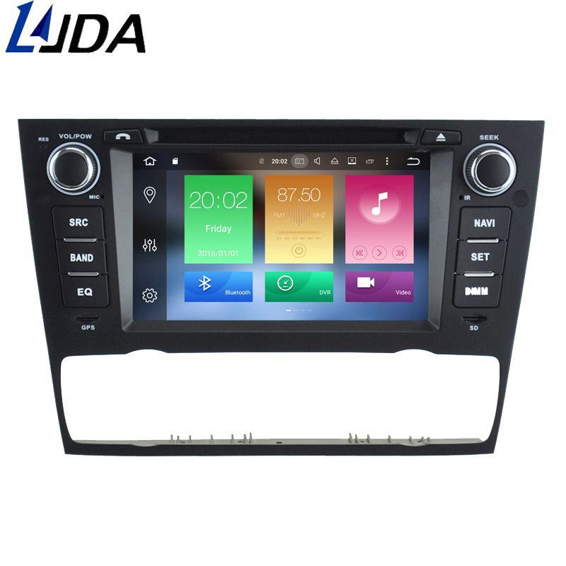 LJDA 1 Din Android 8.0 Car DVD Player for BMW 3 Series E90 E91 E92 E93 WIFI Radio Gps Navigation 4G+32G Multimedia Headunit RDS