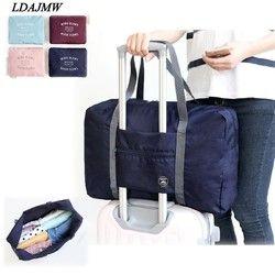 LDAJMW Горячая Повседневная Большая емкость мешочек для багажа Сумка/Сумка для путешествий большая сумка складной органайзер для сумки