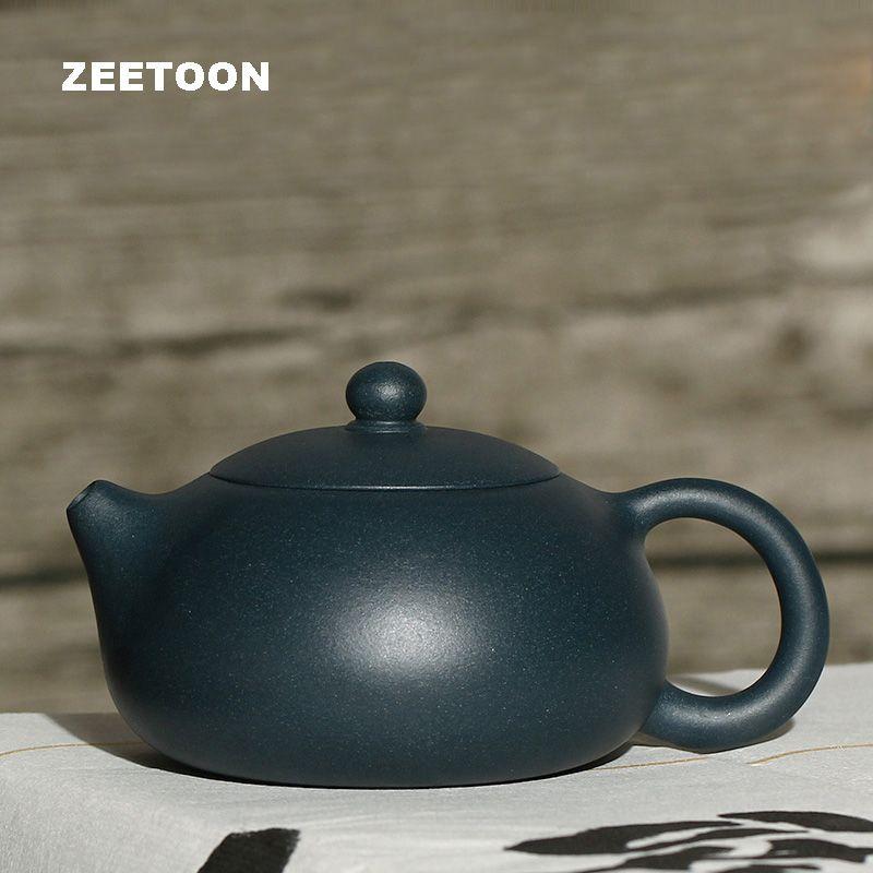230cc Authentic Yixing Teapot Xishi Pot Chinese Health Purple Clay Xi Shi Pot Green Mud Tea Set Zisha Kettle Creative Home Decor