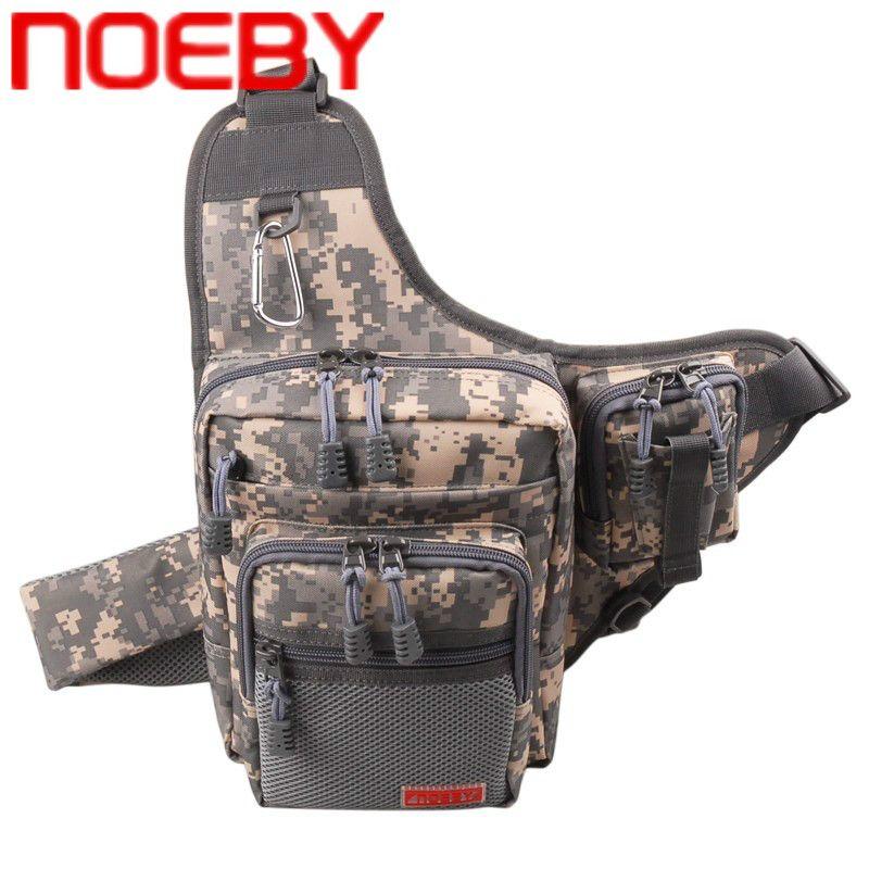 Nouveau sac de pêche NOEBY 23x18x8cm sac à dos extérieur étanche sac de taille multifonctionnel Bolsa Pesca 8 couleurs sac de matériel de pêche