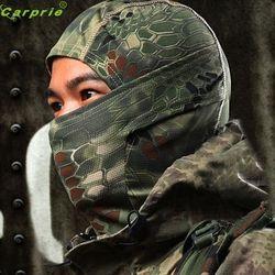 AUTO cool 1PC Camouflage Army Cycling Motorcycle Cap Balaclava Hats Full Face Mask Bicycle Cap Men Riding Bandana OC 31