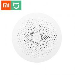 Nouvelle Passerelle 2 D'origine Xiaomi Mijia Maison Intelligente Kits Passerelle Système d'alarme Contrôle Radio Yi Camers Mi Porte Capteur Cloche température