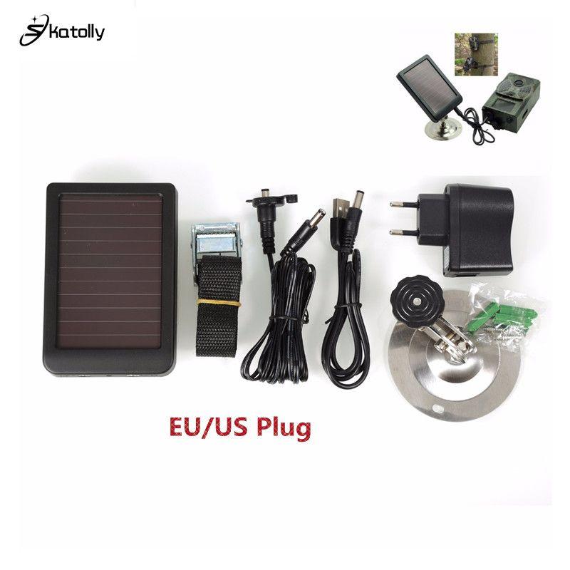 HC300M HC300 Hc500M caméra de chasse panneau solaire chargeur batterie alimentation externe pour SUNTEK faune Scout caméra de chasse infrarouge