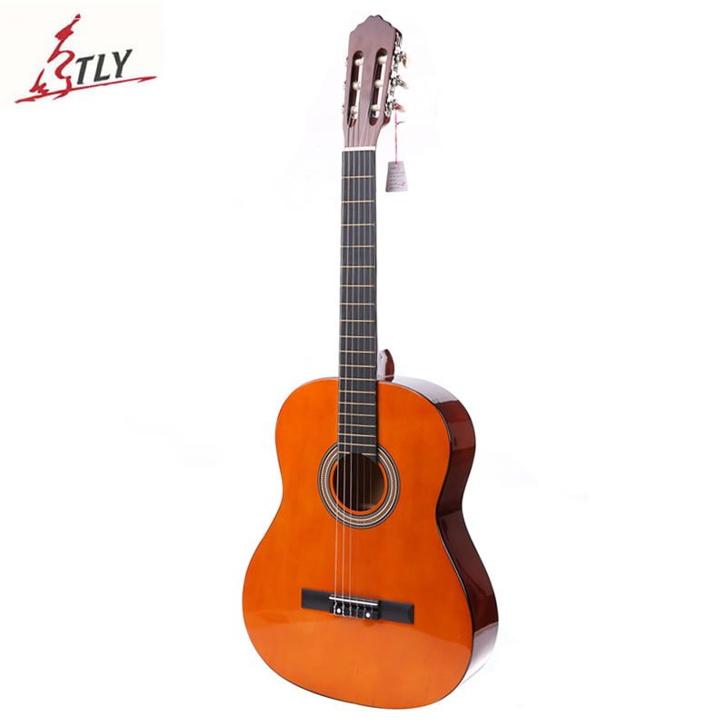 High Quality 39 Basswood Classical Guitar 6-Strings Students Beginner Guitar <font><b>Guitarra</b></font> with Foam Package