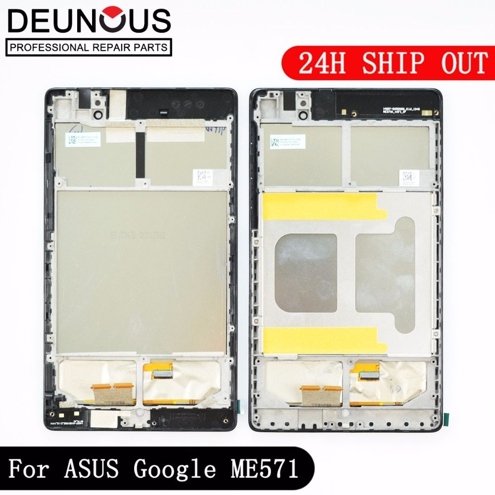 LCD Display +Touch Screen Digitizer with FRAME For ASUS Google Nexus 7 II 2nd 2013 ME571KL K009 Nexus7C LTE/4G/3G LCD Assembly