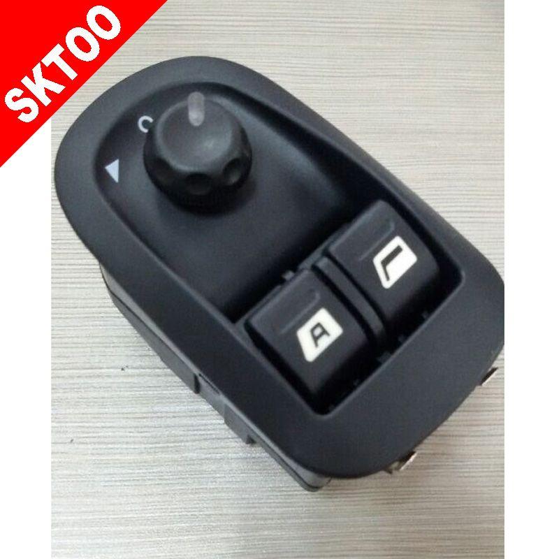 Power window switch For Peugeot 206 207 Citroen C2   car switch OEM:6552WP