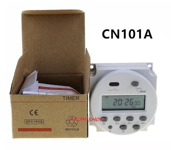 CN101A AC 220 v 230 v 240 v Numérique LCD Puissance Minuterie Programmable Commutateur Relais de Temps de 16A minuteries CN101 minuterie