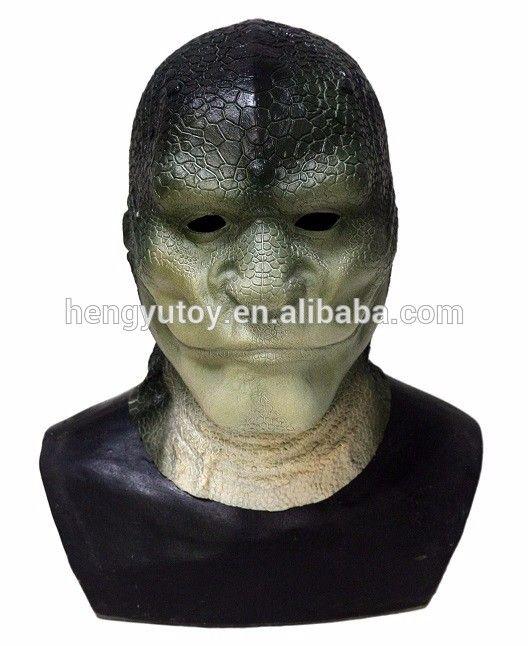 Horror Halloween Kostüme Reptilien Elite Alien Eidechse Mann maske