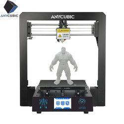 ANYCUBIC I3 Мега 3d принтер большой плюс размер Полный металлический Impresora 3D TFT сенсорный экран 3d принтер высокая точность 3D Drucker