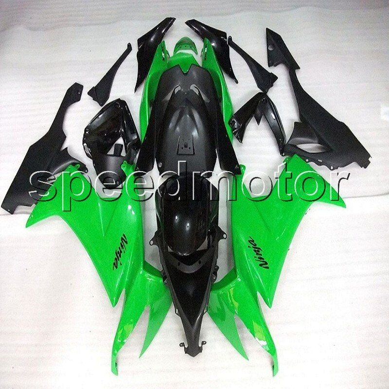 Custom+ aftermarket motor bodywork article GREEN ZX 10R 08 09 10 ABS motorcycle fairing for Kawasaki Ninja ZX10R 2008 2009 2010