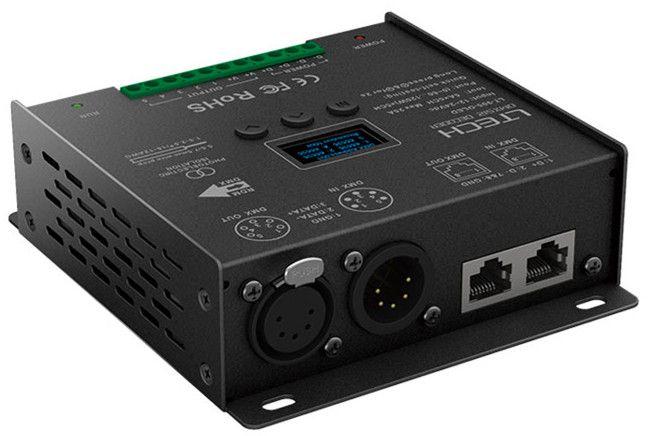 LT-905-OLED;5CH CV DMX Decoder;DC12-24V input;5A*5CH output