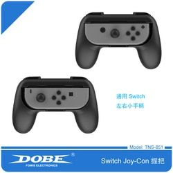 Foleto Joy-Con Grip Kit for Nintendo Switch High Quality Wear-resistant Joy-con Handle for Nintendo Switch (2-PACK-Black)