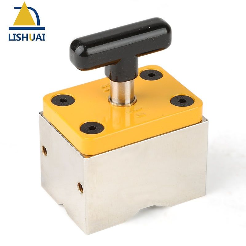 120kg Powerful On-Off Square Welding Magnets Magnetic Welding Holder/Clamp for Metal&Wood Working