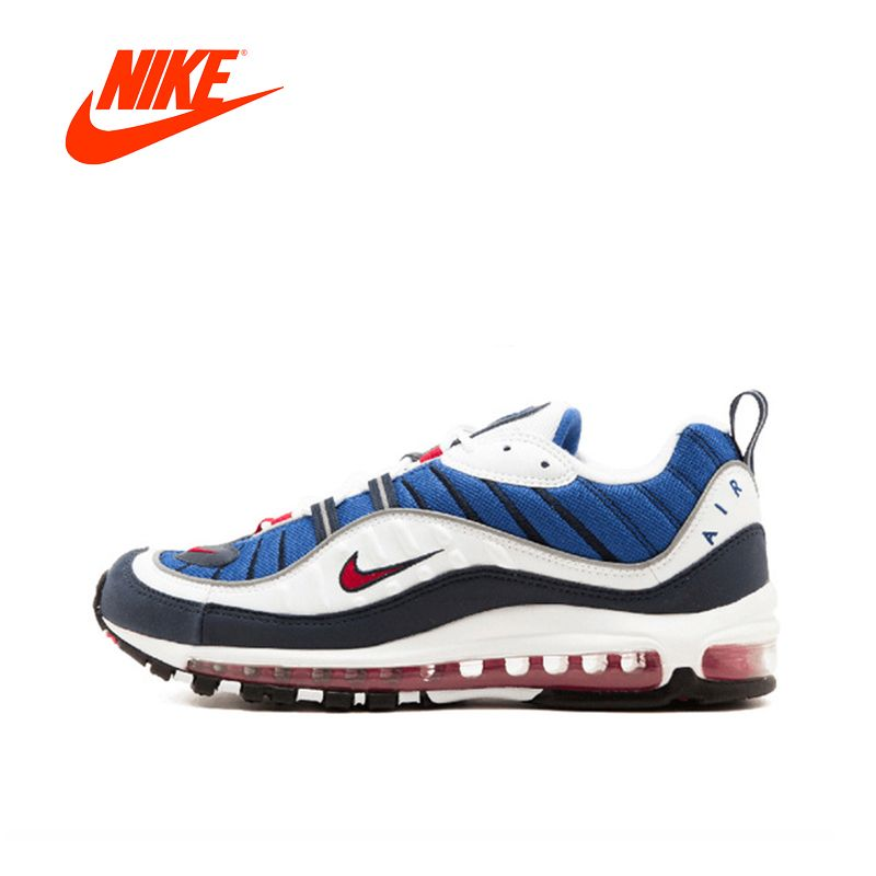 Original New Arrival Official NIKE W Air Max 98 Breathable Men Running Shoes Outdoor Anti-slip Sports Sneakers Comfortable
