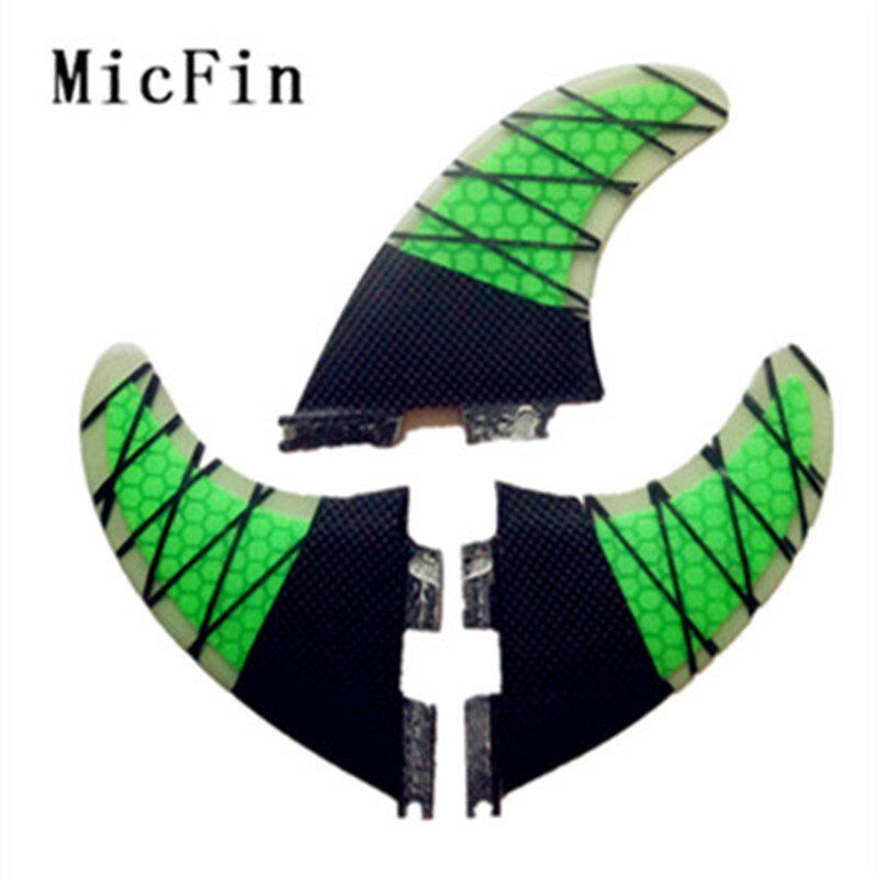 2015 High quality FCS II G5 Surf fins with fiberglass honey comb material for surfing 002 size M