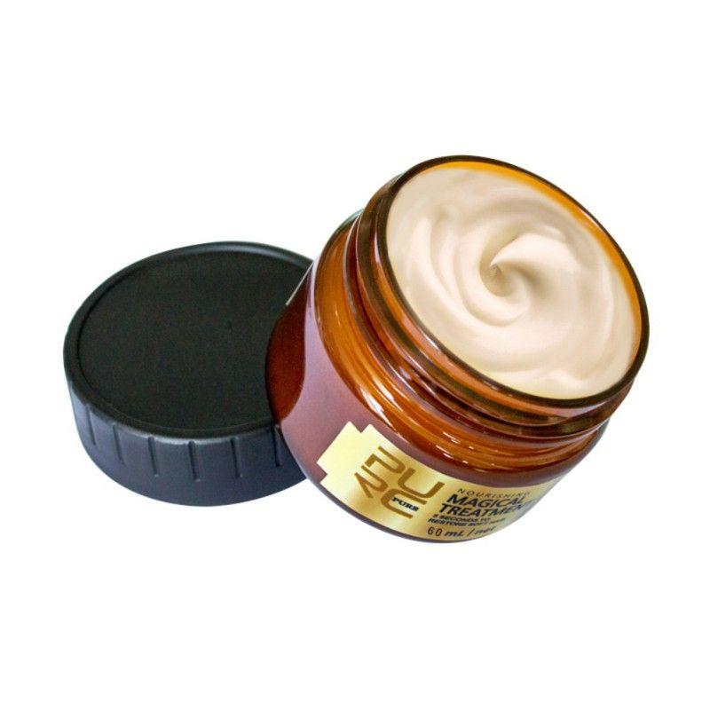 Anti-chute de cheveux répare les dommages restaurer masque de traitement des cheveux doux