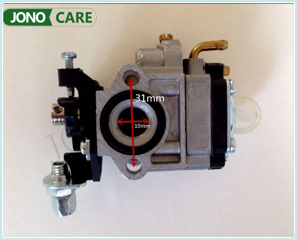 Pièces de rechange nouveau carburateur pour 1E34F CG260 BC260 26CC chinois petite essence débroussailleuse coupe gazon pièces de moteur
