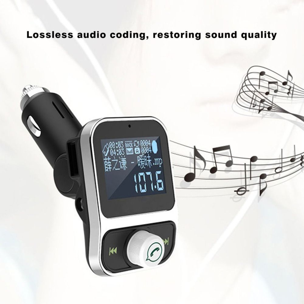 Car MP3 Vehicle-mounted MP3 Audio MP3 Player Car-carrying Music Player Handsfree Cigar-lighter Type Bluetooth FM Transmitter