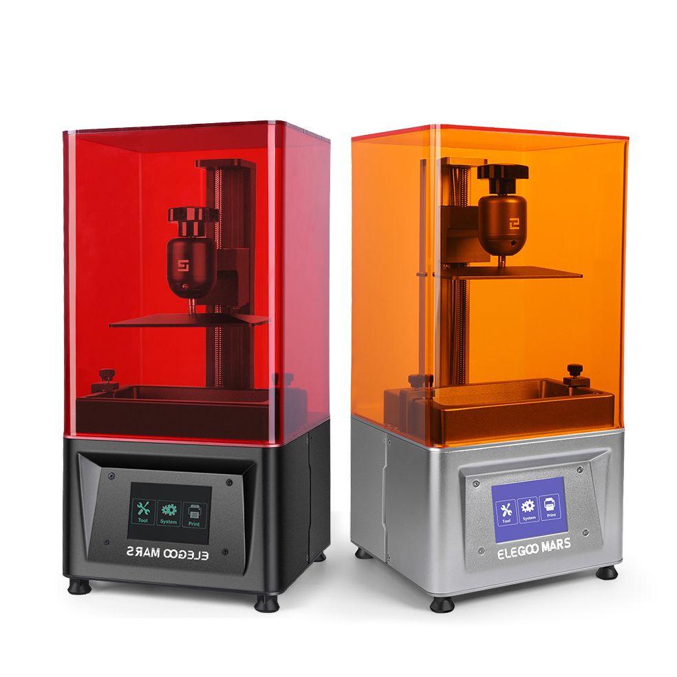 ELEGOO Mars UV Photocuring LCD 3D Drucker mit 3,5 ''Smart Touch Farbe Bildschirm Off-line Print 4,72 (L) x 2,68 (W) x 6,1 (H)