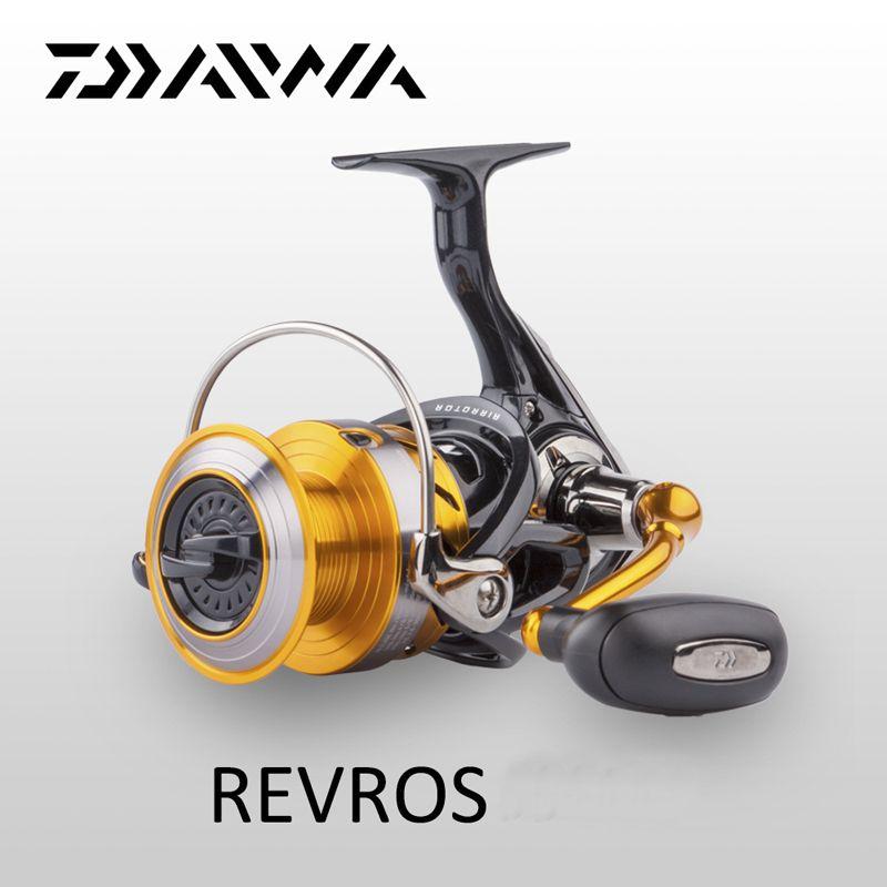 Origine Daiwa Spinning Moulinet De Pêche REVROS Une série 5 Billes D'eau de Mer D'eau Douce Carpe Roue D'alimentation avec Air Rotor