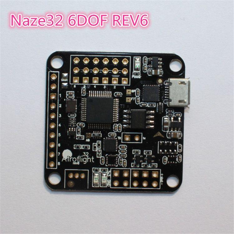 Naze32 Rev5/Rev6 6 DOF contrôleur de vol w boussole baromètre Flip32 32 + Flip32 Multicopte